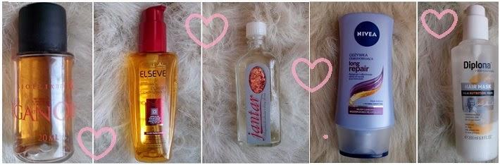 Moje ulubione produkty do pielęgnacji włosów ;)