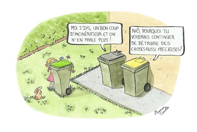 Composteurs ou bac à biodéchets ?