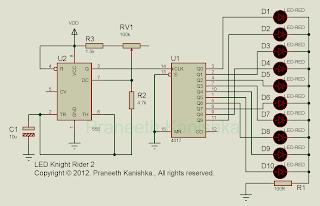 Knight Rider Circuits 2