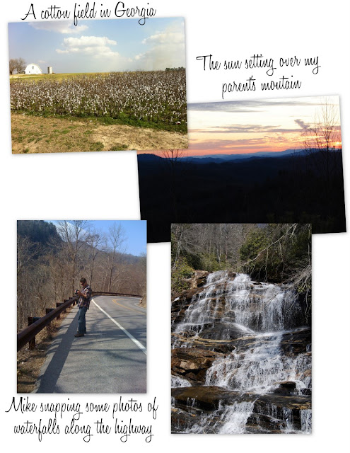 trip to Blue Ridge Mountains
