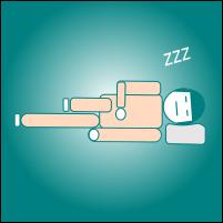 Manfaat tidur miring ke kiri untuk penderita asam lambung