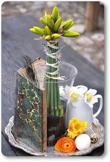 påskliljor, bukett påsk, bukett påskliljor