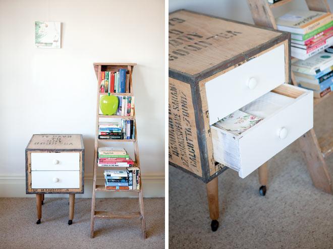 Familiar Interiors: Creative bedside tables