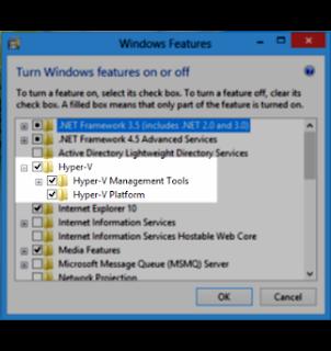 Mengatasi Hypervisor Is Not Running Visual Studio 2013