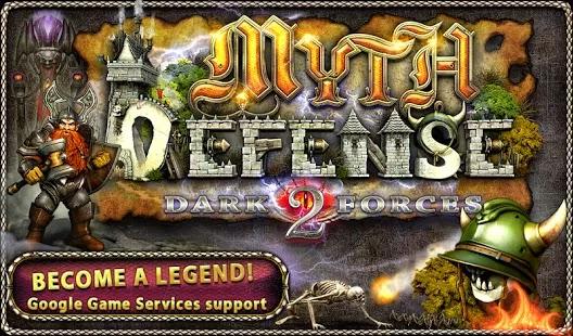 Myth Defense 2: DF Platinum APK Obb