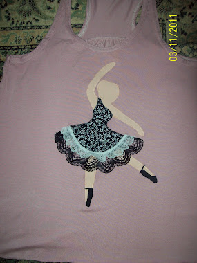 Bailarina patchcolagem