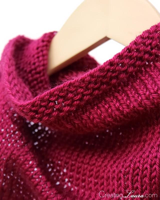 Creating Laura A Knitted Bandana Cowl