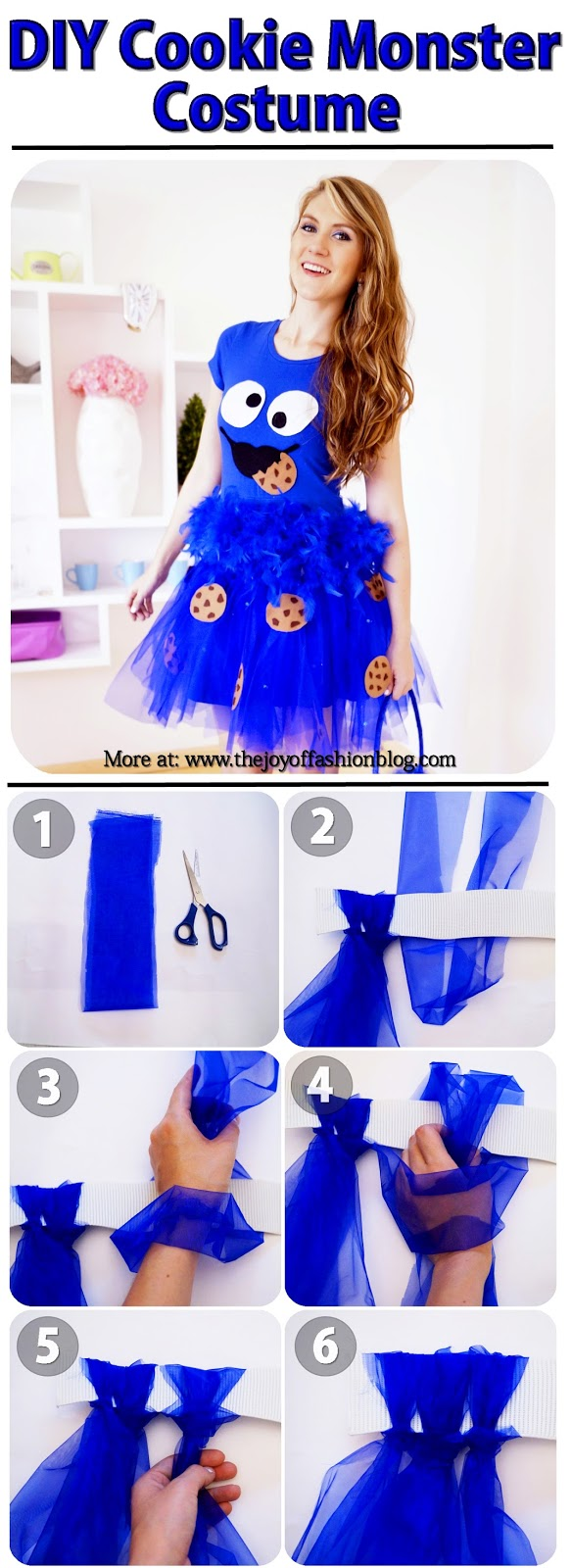 Cookie Monster Costume Tutorial, Part 1