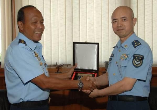 Angkatan Udara RI-China Tingkatkan Kerja Sama Militer