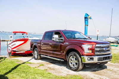 Ford F-150 Proves its Towing Capabilities