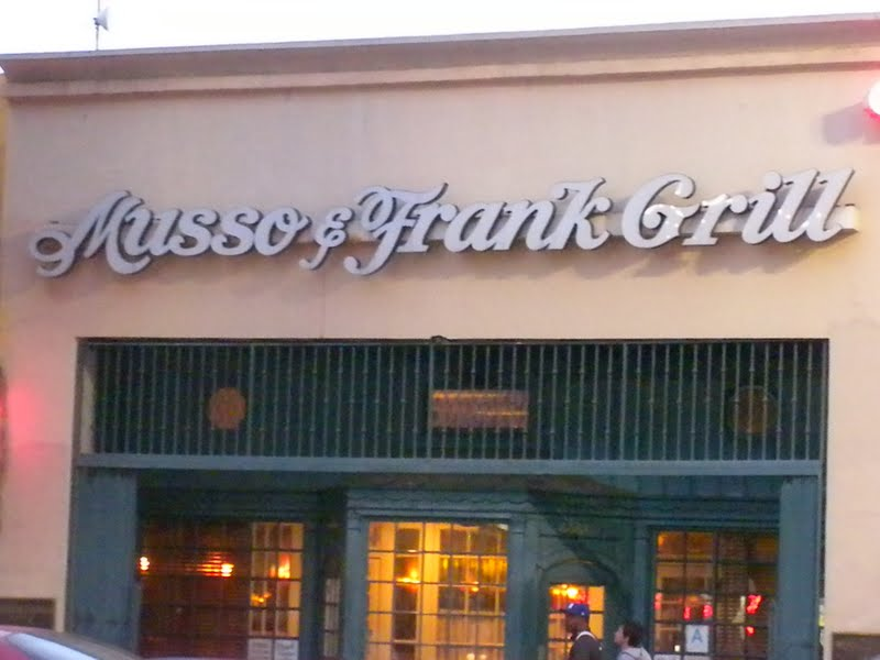 Oh the places you 39 ll go in la musso and frank grill - Musso and frank grill hollywood ...