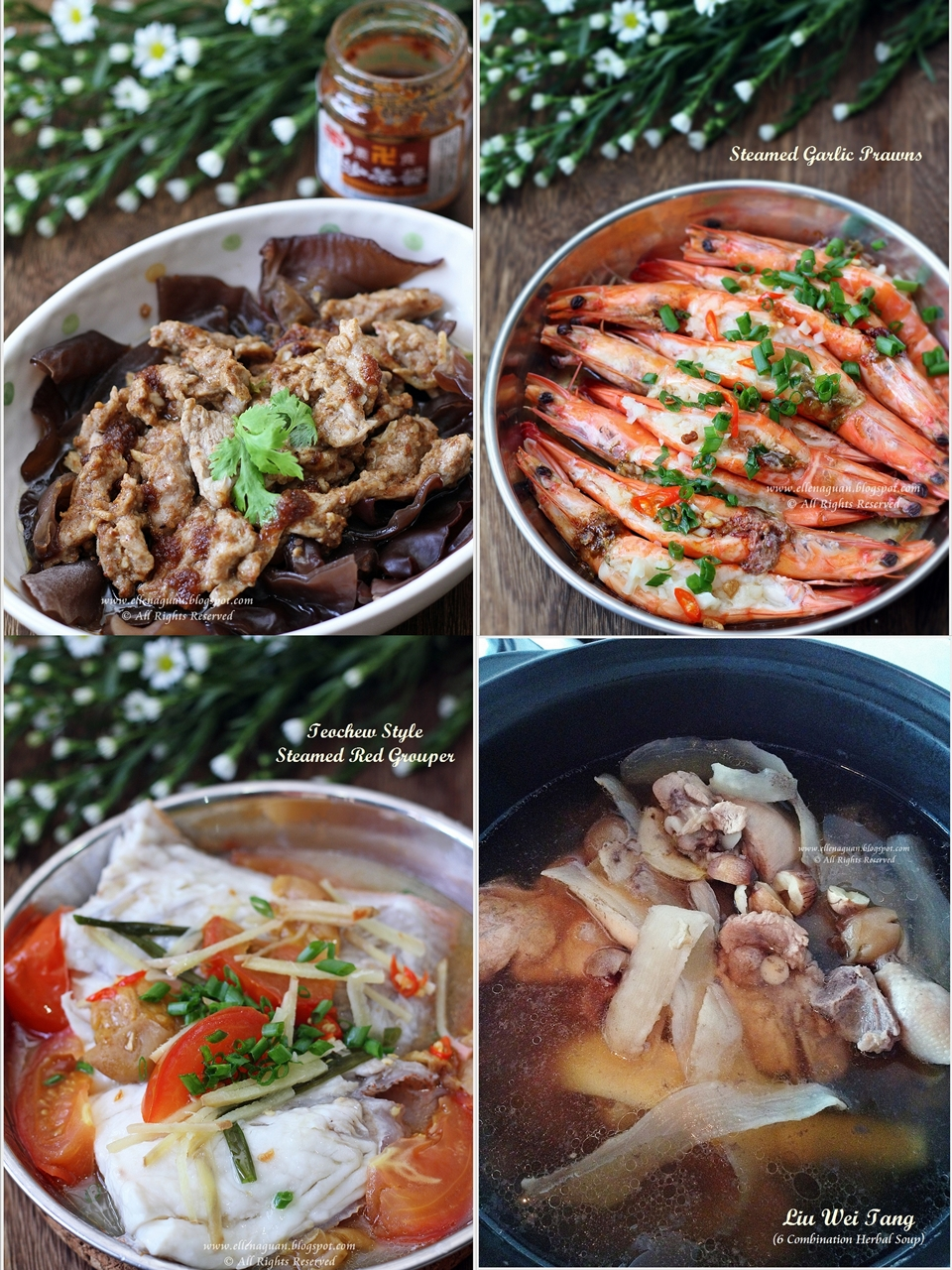 Cuisine paradise singapore food blog recipes reviews and travel quick recipes on 3 dishes 1 soup forumfinder Choice Image