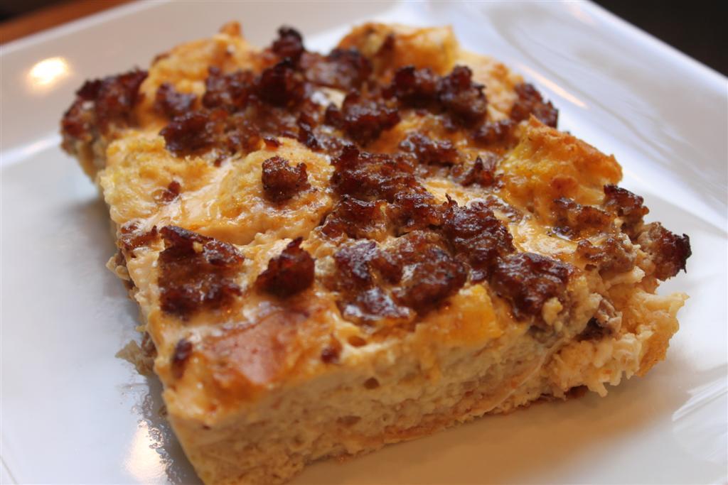 Kelly's Healthified Kitchen: Sausage Breakfast Casserole Recipe