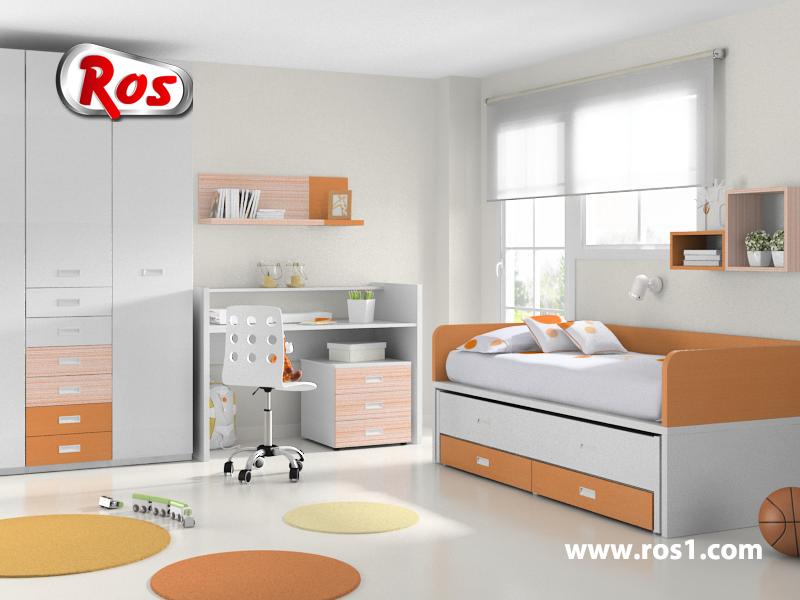 Muebles ros consejos para dormitorios infantiles for Muebles infantiles ros