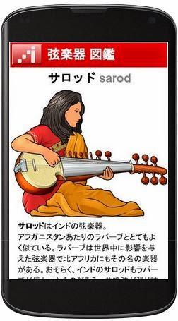 モバイル対応 弦楽器の図鑑