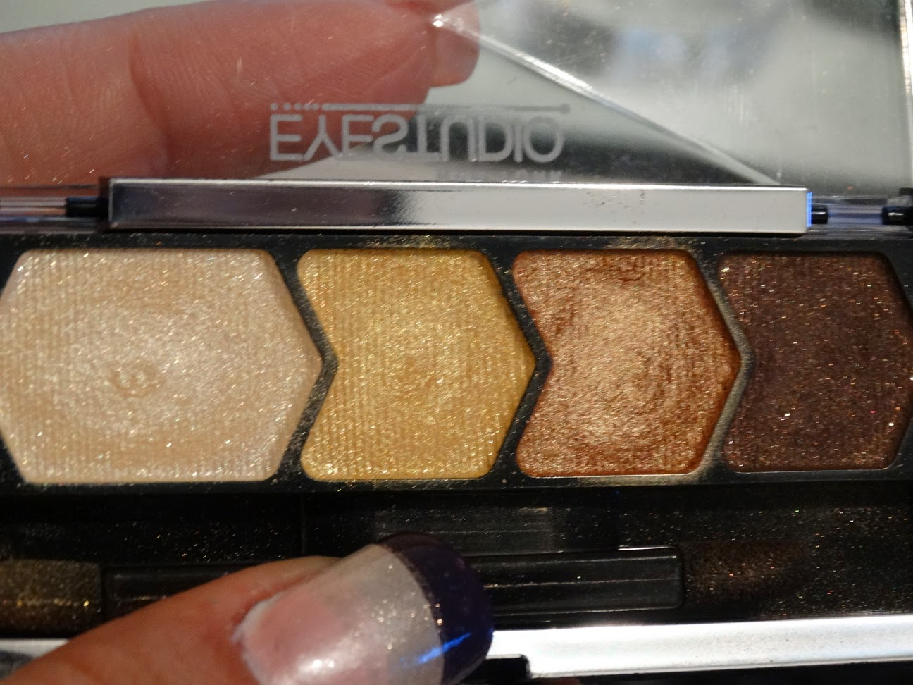 Palette Maybelline Eyestudio - 05 Give me gold