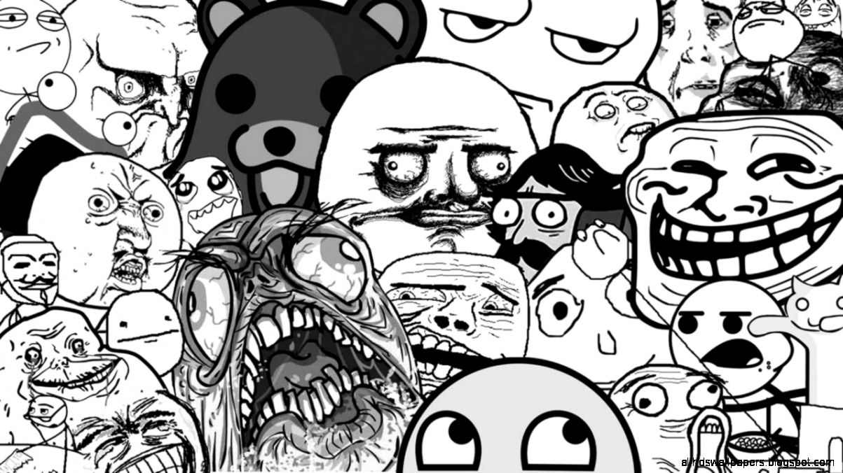 Wallpapers Trol Face Troll Trollface With Resolution 1280x720