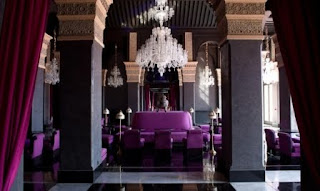 Marrakech, Selman Hotel, purple