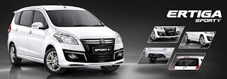 Daftar Harga Mobil Suzuki Ertiga 2015