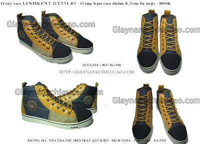 Giày nam đẹp GT251. 65