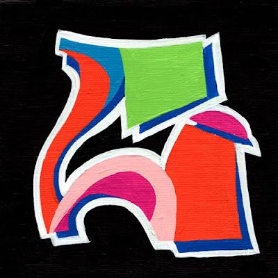 3-graffiti letter a