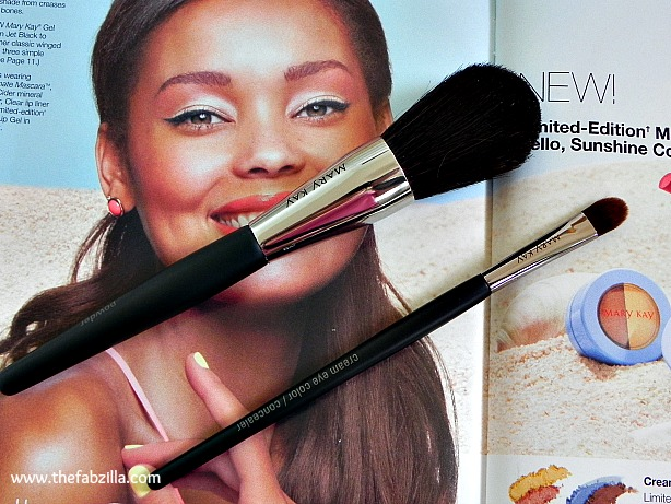 review mary kay makeup brush