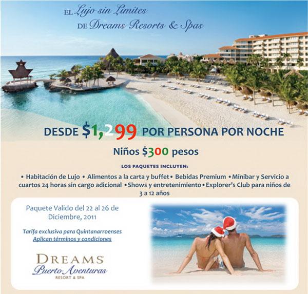 Promocion Dreams Puerto Aventuras Hotel Marina