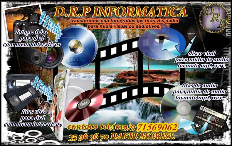 GRAVAÇÕES EM DVD OU CD