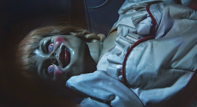 Annabelle doll 2014 movie still conjuring
