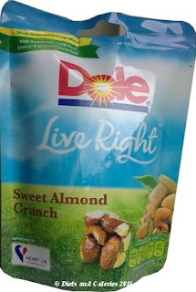 Dole Live Right Sweet Almond Crunch pack
