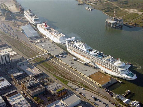 Cruise Port   Galveston