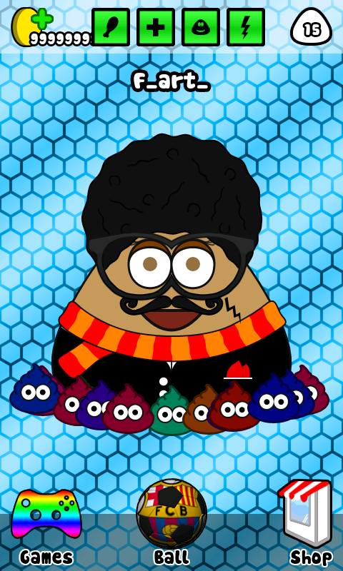 Download POU Mod Apk Terbaru 2015 Unlimited Coin