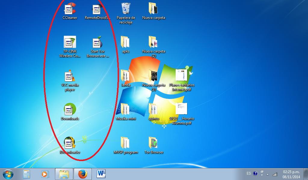Sotecpro iconos iguales en el escritorio de windows 7 - Iconos para escritorio windows ...