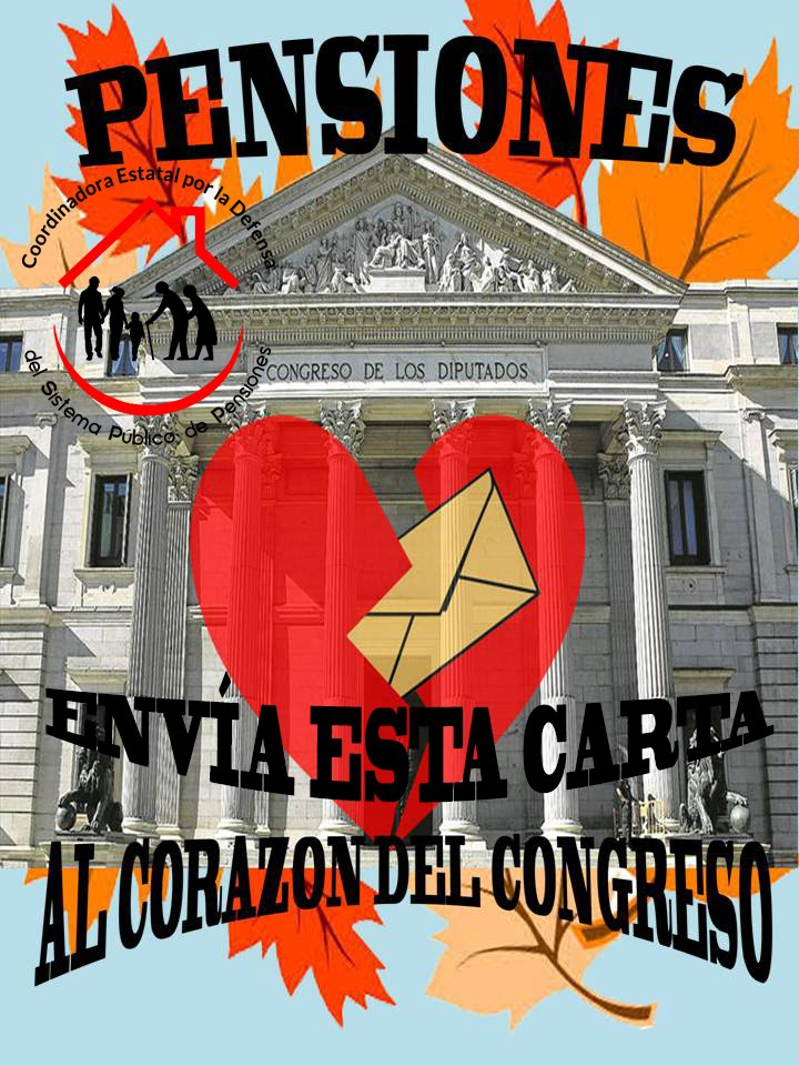 Campaña ENVÍA ESTA CARTA AL CORAZÓN DEL CONGRESO.
