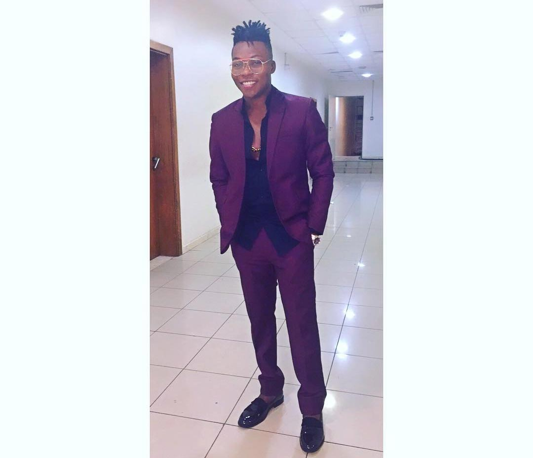 "Check Out Reekado Bank's Posh Outfit As He Wins ""The Next Rated"" At The Headies 2015 (Photo)"