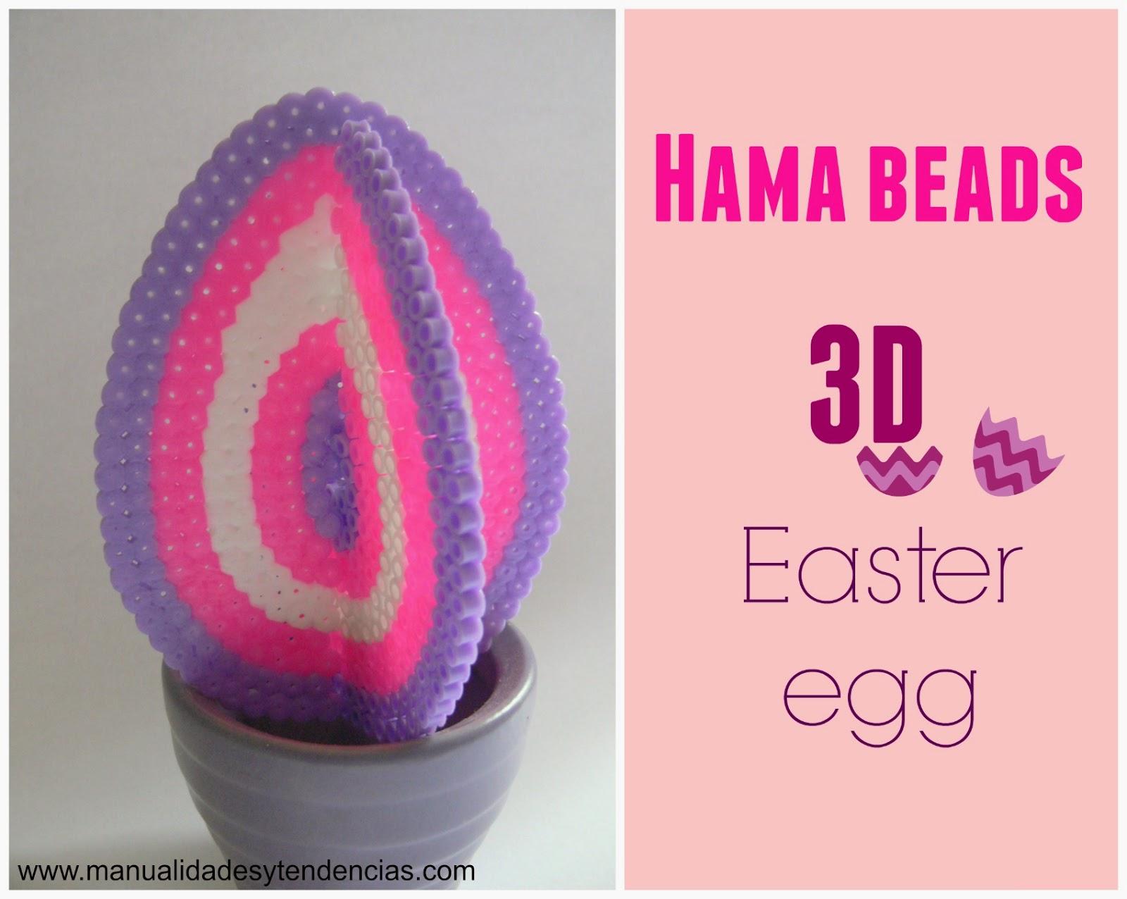 hama beads easter egg