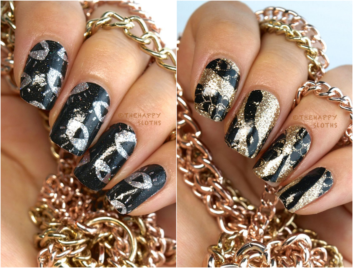 Smashbox Santigolden Age by Santigold Summer 2014 Collection Nail Polish Art Strips: Review and Swatches