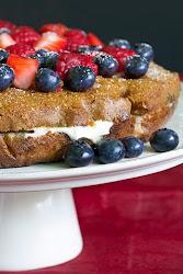 Almond Berry Shortcake