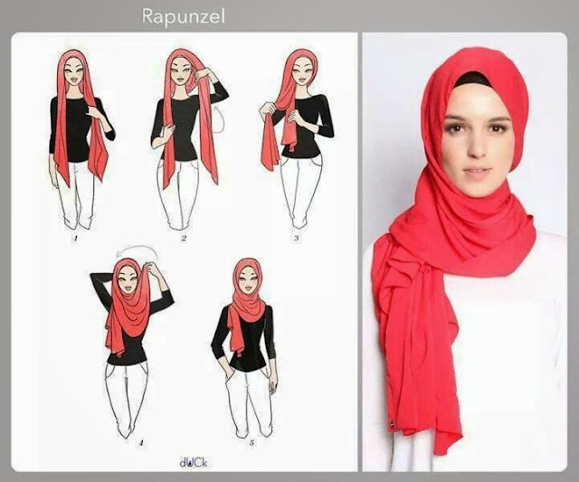 Tutorial Hijab Elfira Loy Hijab Tutorial Inspired By Elfira Loy