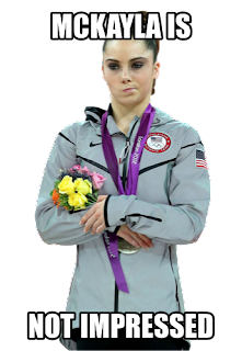 McKayla is Not Impressed at Fashion Week