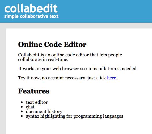 collaborative writing tool
