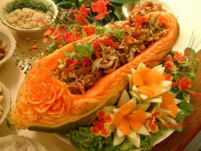 Vegivore - อาหารไทย - ยำตระไคร้