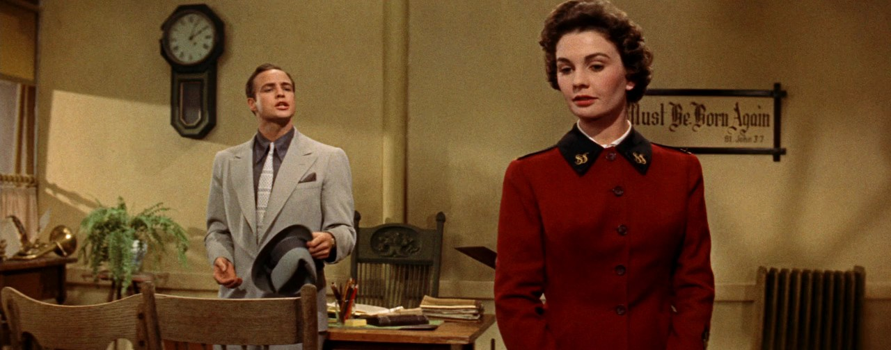 Marlon Brando, Jean Simmons Guys and Dolls 1955 movieloversreviews.blogspot.com