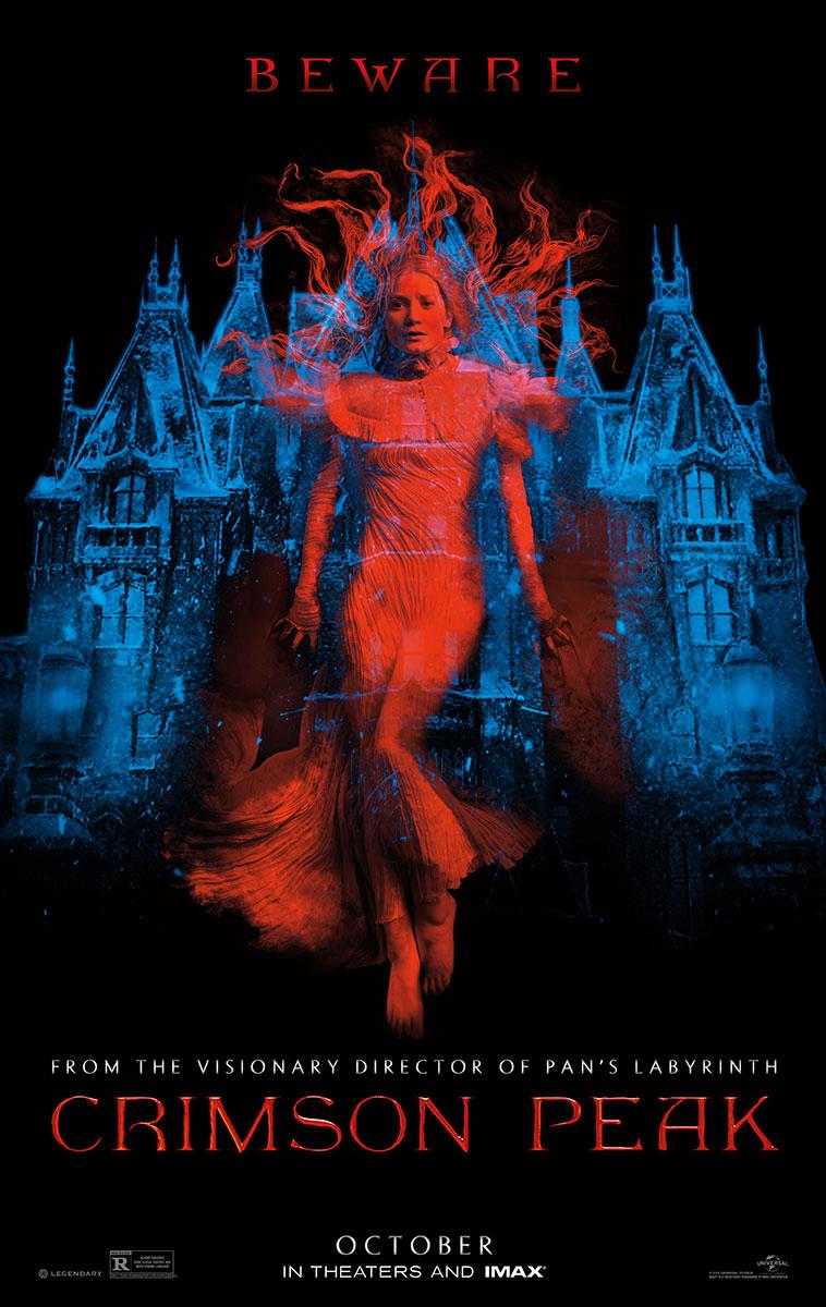 Primeiro trailer, poster e imagens de Crimson Peak