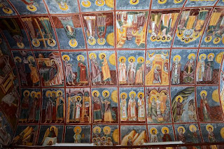Polovragi, infirmary-Synaxis of the Church narthex