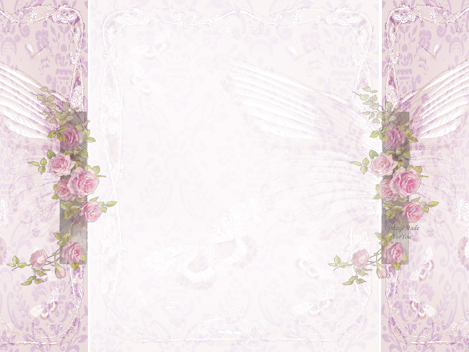 VintageMadeForYou Free Blog Background Shabby Chic Vintage Roses