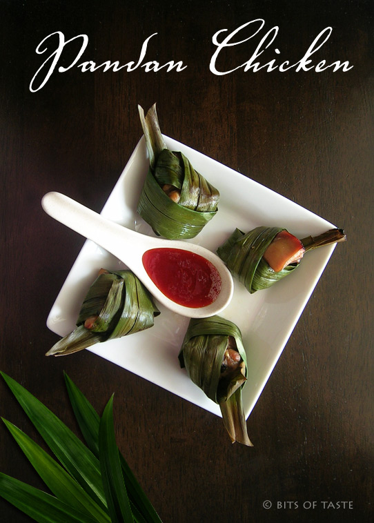 Bits of Taste | Every bits of food and taste!: Baked Pandan Chicken