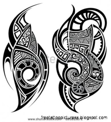 Polynesian Tattoo Stock Photos Images amp Pictures  Shutterstock
