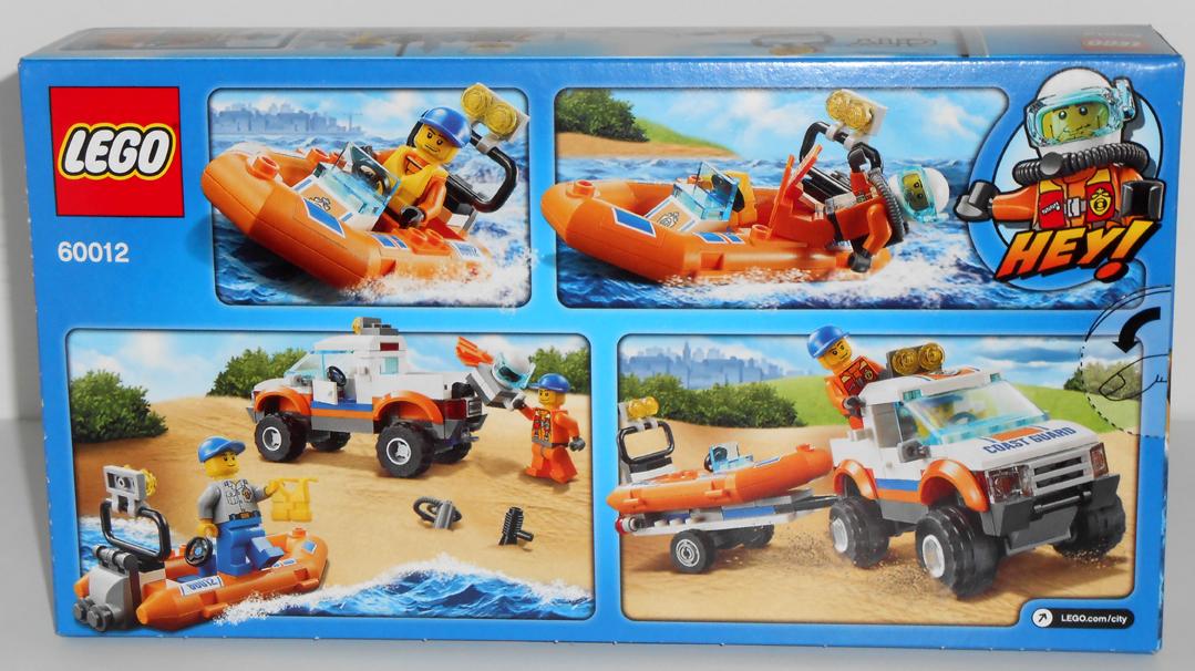 Lego City Rescue Boat Instructions