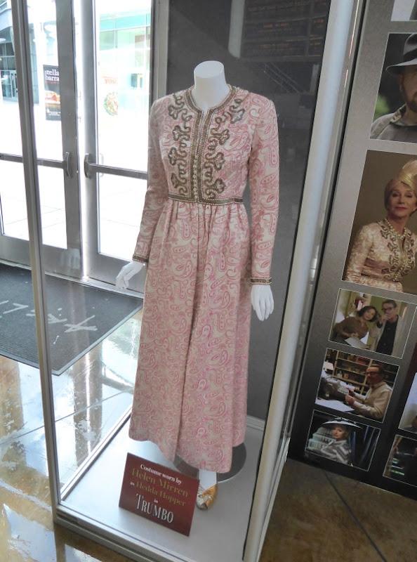 Helen Mirren Trumbo Hedda Hopper movie costume